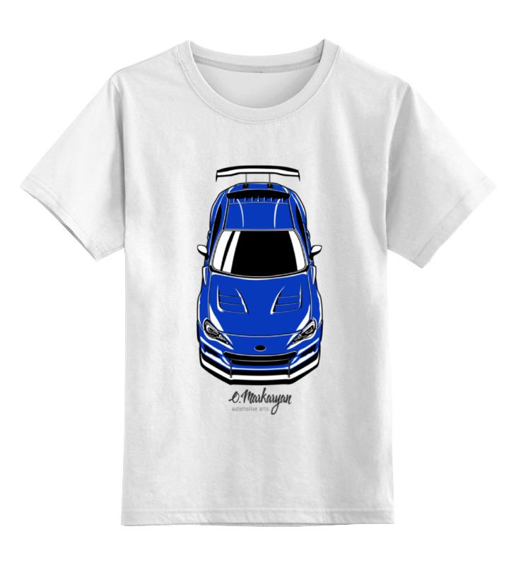 Детская футболка классическая унисекс Printio Subaru brz цена