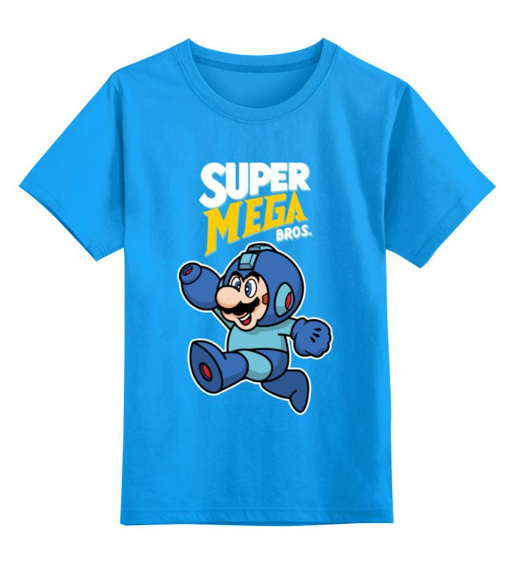Детская футболка классическая унисекс Printio Super mario (mega man) детская футболка классическая унисекс printio bugs bunny man