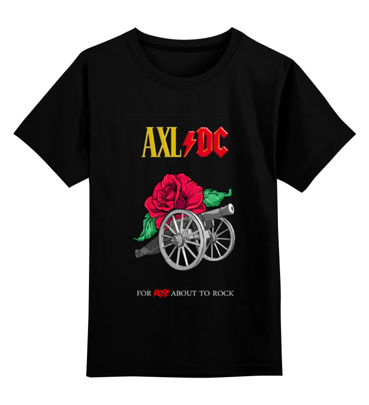 Printio Ac/dc & axl rose erik axl sund klaaskehad
