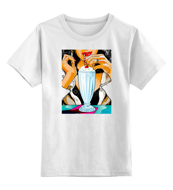 Детская футболка классическая унисекс Printio Pulp fiction (martin and lewis) цена и фото