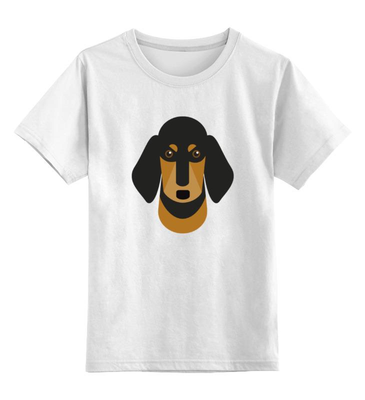 Детская футболка классическая унисекс Printio Собака детская футболка классическая унисекс printio жёлтая собака танграм
