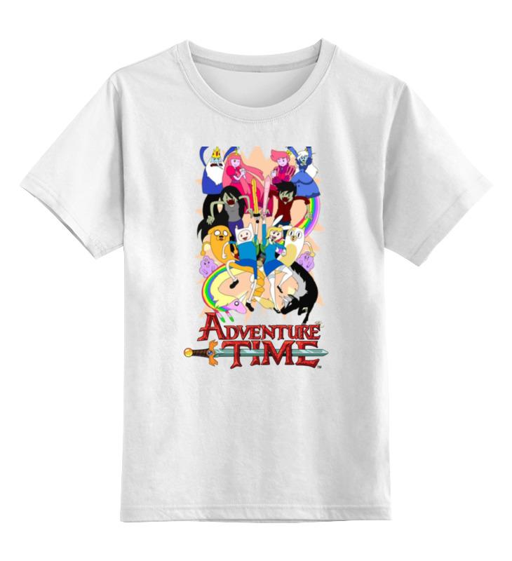 Детская футболка классическая унисекс Printio Adventure time детская футболка классическая унисекс printio doctor adventure time
