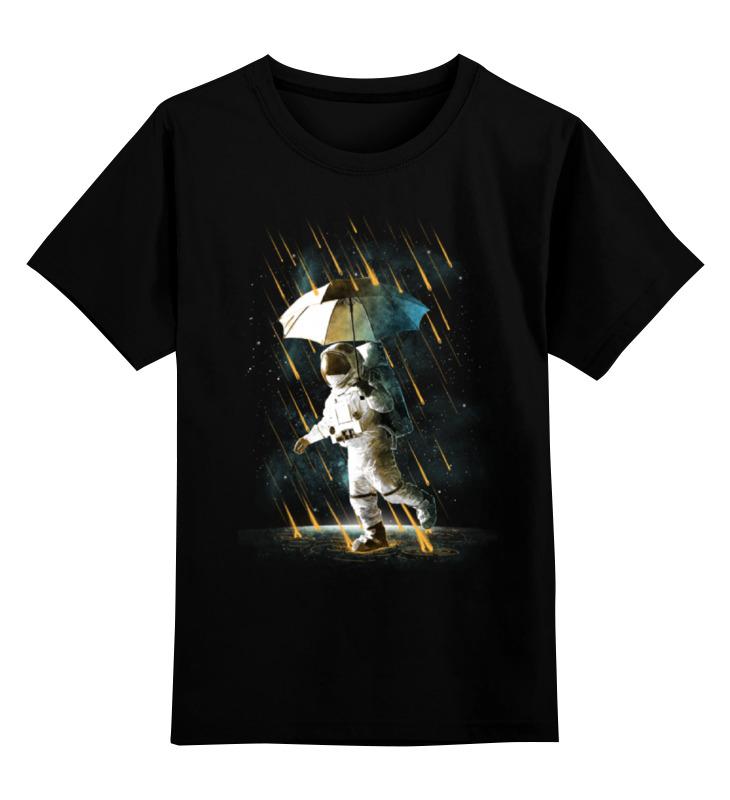 Детская футболка классическая унисекс Printio Метеоритный дождь цена