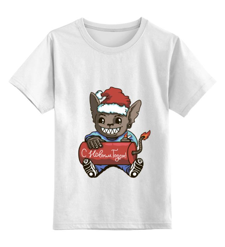 Детская футболка классическая унисекс Printio new year new original ki0209 warranty for two year
