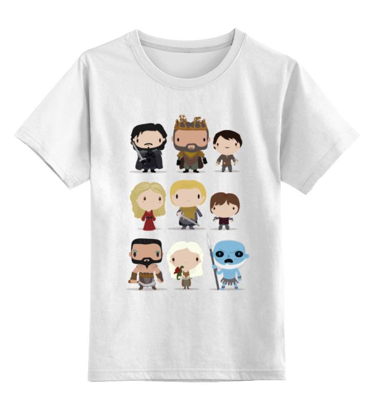 Детская футболка классическая унисекс Printio Игра престолов футболка классическая printio игра престолов