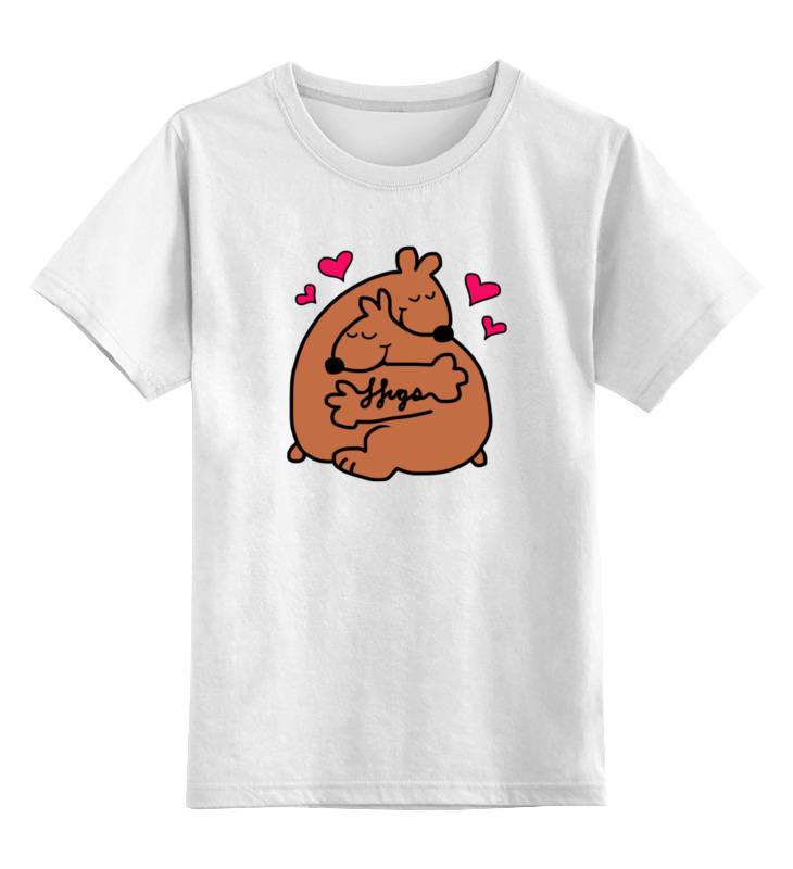Детская футболка классическая унисекс Printio Обнимашки мишек детская футболка классическая унисекс printio обнимашки для котов