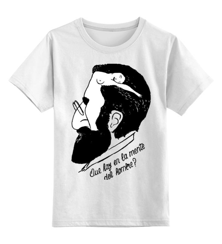 Детская футболка классическая унисекс Printio Зигмунд фрейд (sigmund freud) толстовка wearcraft premium унисекс printio зигмунд фрейд sigmund freud