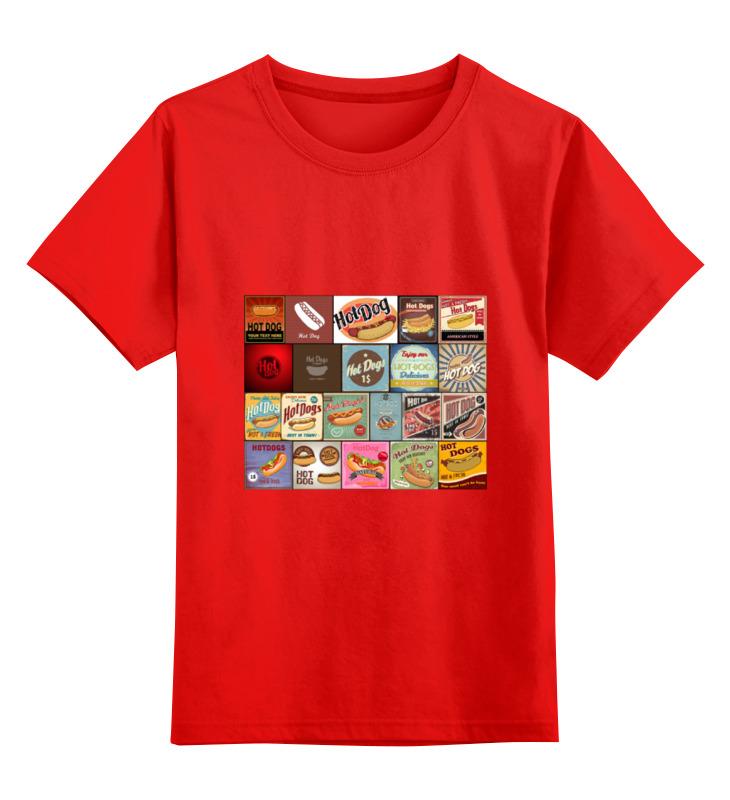 Детская футболка классическая унисекс Printio Hot dog сумка printio gta 5 dog