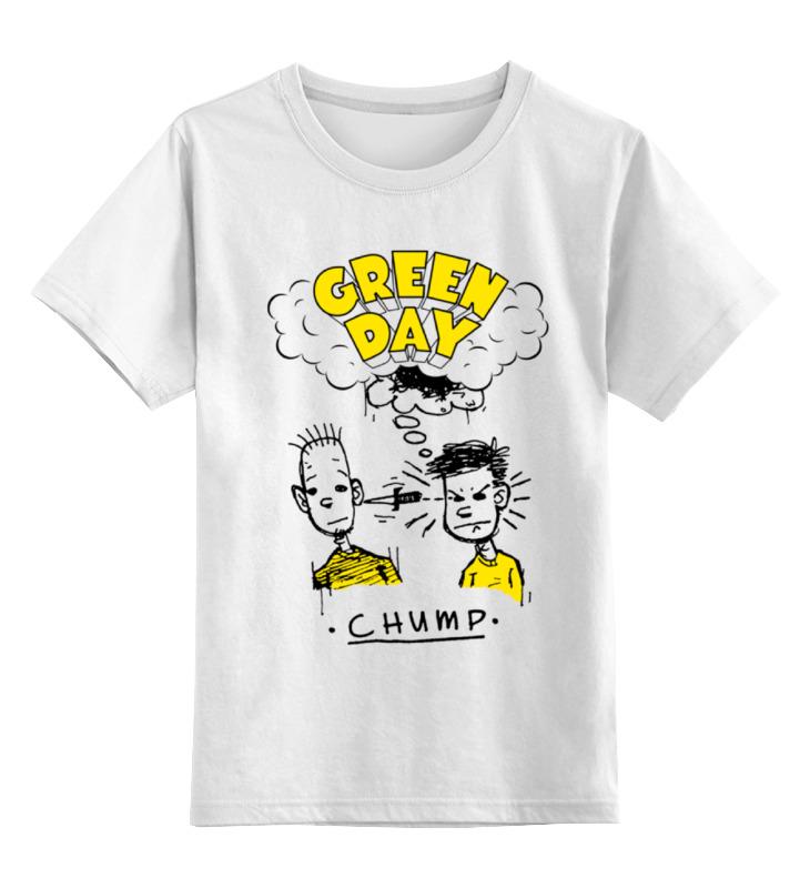 Детская футболка классическая унисекс Printio Green day детская футболка классическая унисекс printio мачете
