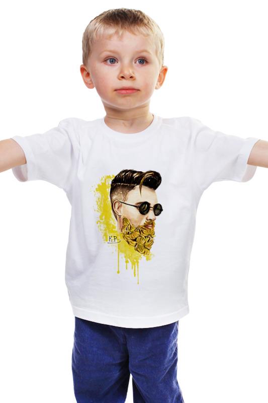 Детская футболка классическая унисекс Printio Банановый бородач детская футболка классическая унисекс printio бородач