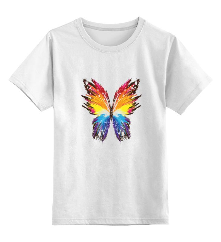 Детская футболка классическая унисекс Printio Бабочка бабочка eton бабочка