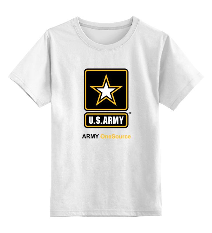 Детская футболка классическая унисекс Printio U.s. army