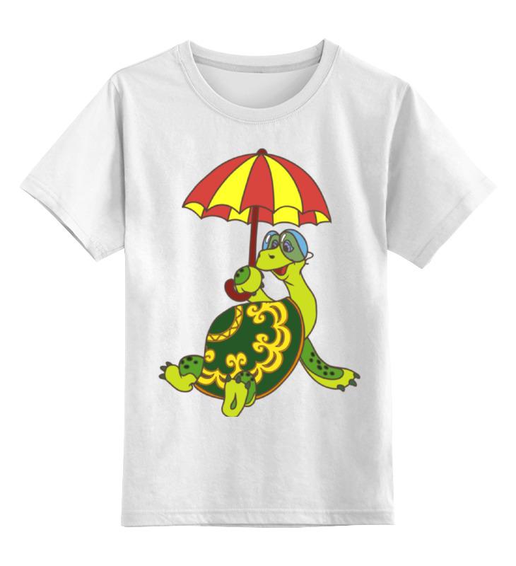 Детская футболка классическая унисекс Printio Черепаха mc neill сумка детская черепаха