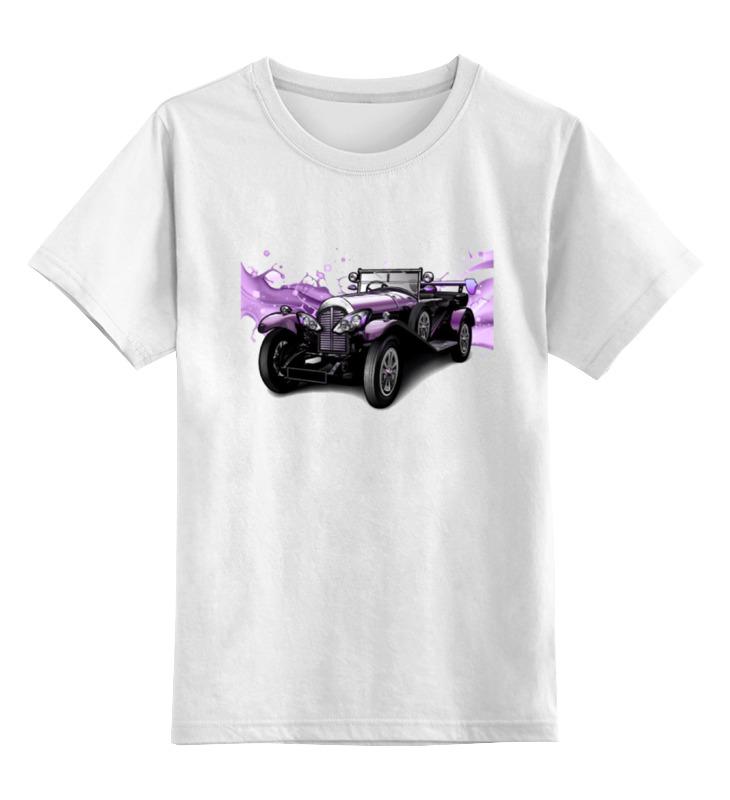 Детская футболка классическая унисекс Printio Ретро авто