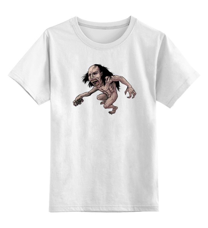 Детская футболка классическая унисекс Printio Чудовище