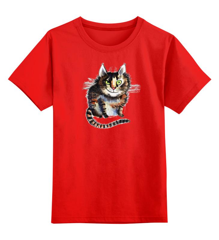 Детская футболка классическая унисекс Printio Кошара smoby детская горка king size цвет красный