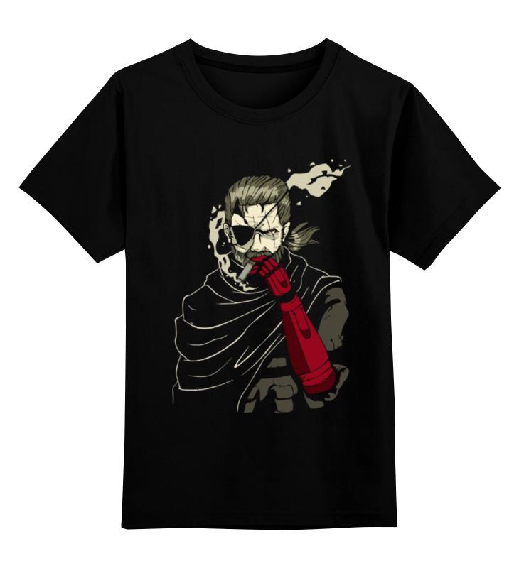 Детская футболка классическая унисекс Printio The boss (metal gear)