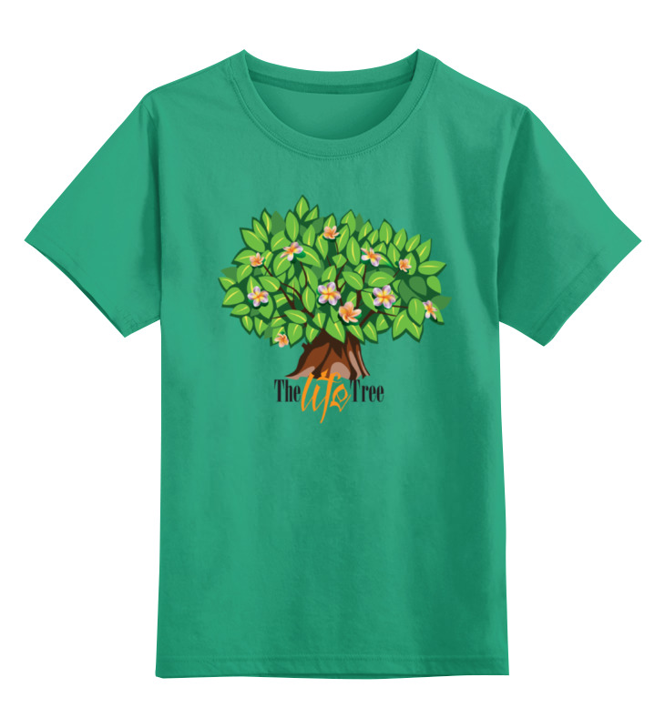 Детская футболка классическая унисекс Printio Icalistini the life tree дерево жизни кружка дерево жизни
