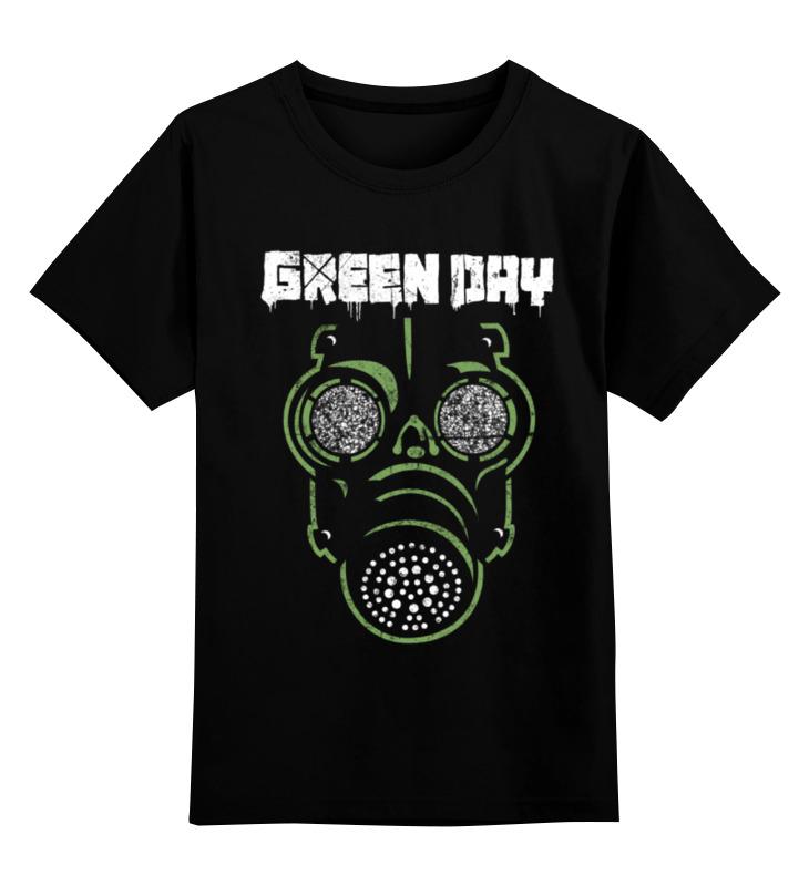 Детская футболка классическая унисекс Printio Green day rga r 981 sports watche green