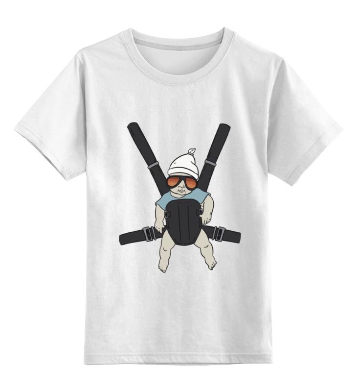 Детская футболка классическая унисекс Printio Малыш (мальчишник в вегасе)