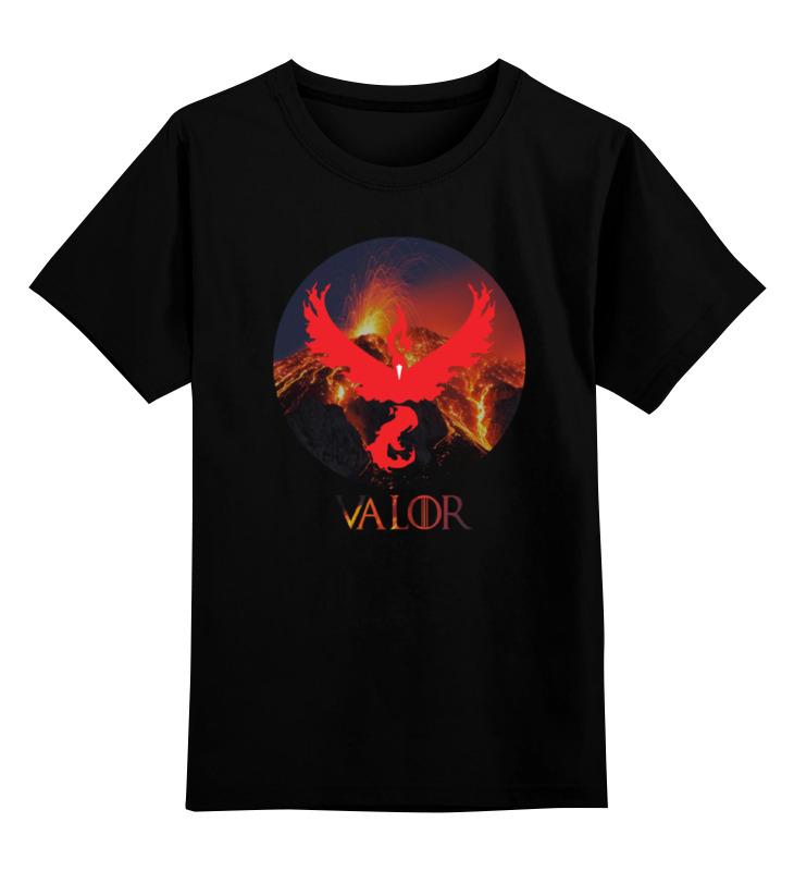 Детская футболка классическая унисекс Printio Valor
