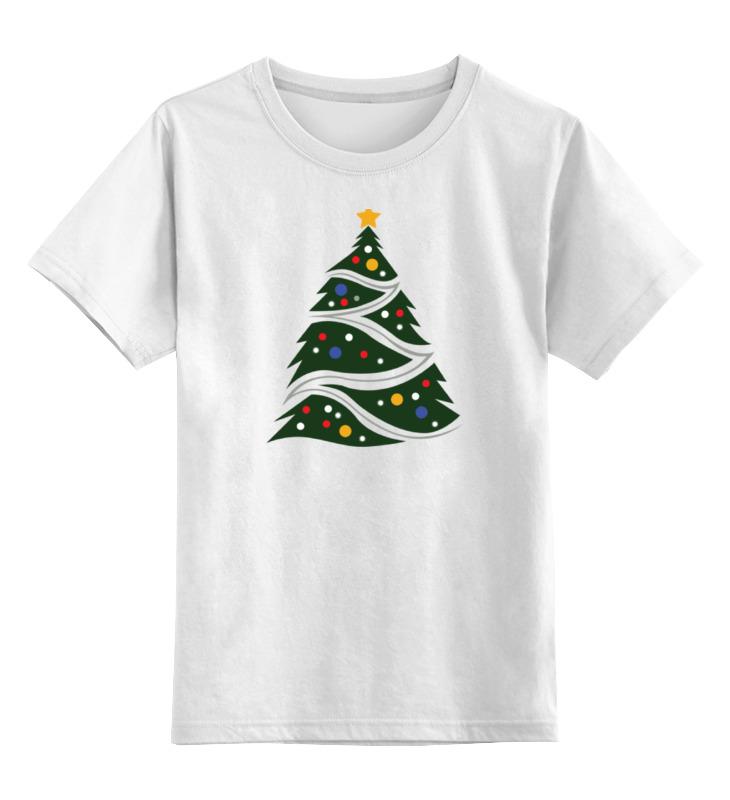Фото - Детская футболка классическая унисекс Printio Елка (новый год) худи print bar новый год 2017