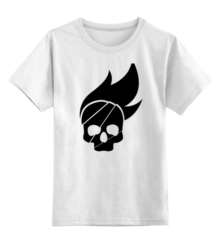 Детская футболка классическая унисекс Printio Череп детская футболка классическая унисекс printio череп марио