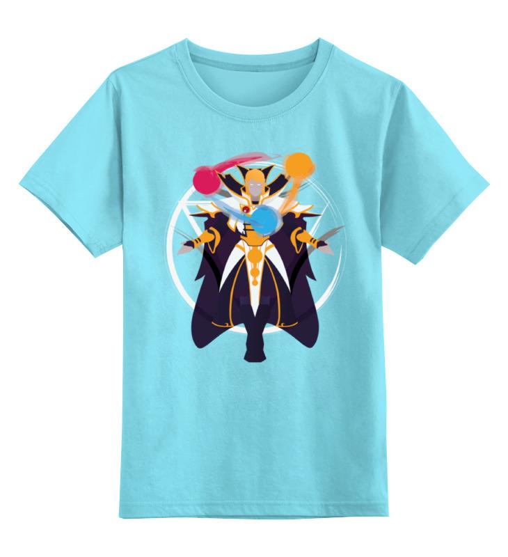 Детская футболка классическая унисекс Printio Invoker dota 2 футболка классическая printio 62 2% в саратове