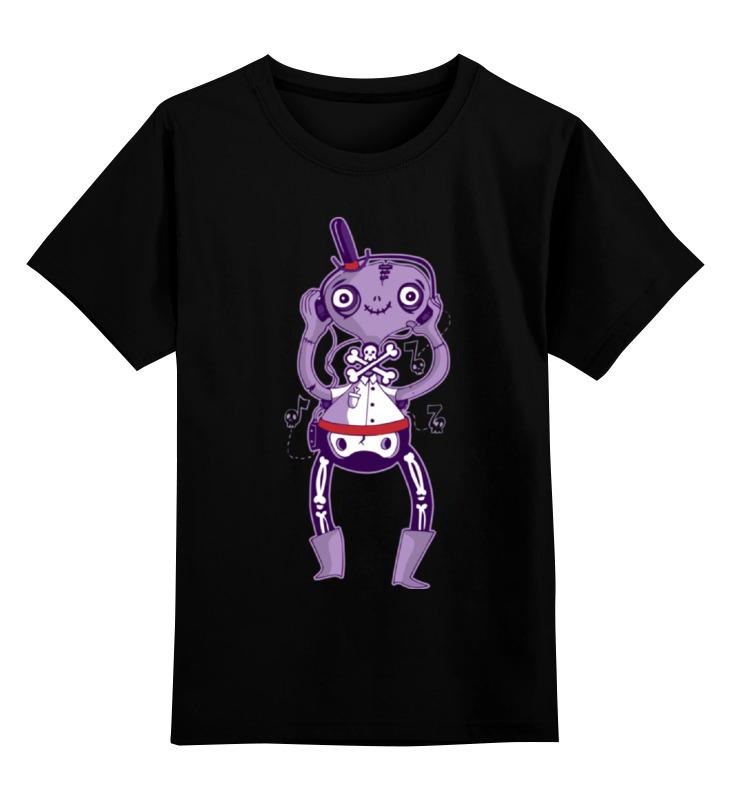 Детская футболка классическая унисекс Printio Забавный монстрик цена и фото