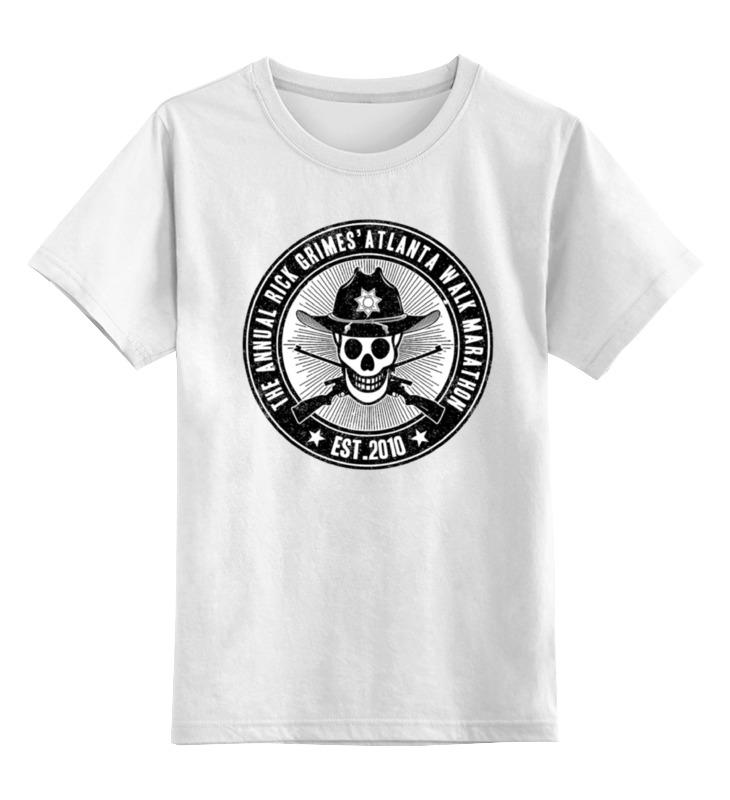 Детская футболка классическая унисекс Printio Ходячие мертвецы детская футболка классическая унисекс printio соник