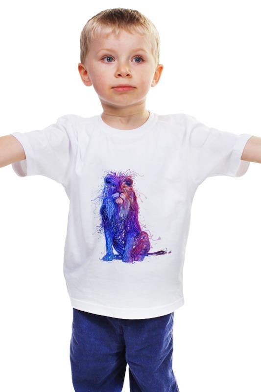 цена  Детская футболка классическая унисекс Printio Царь зверей  онлайн в 2017 году