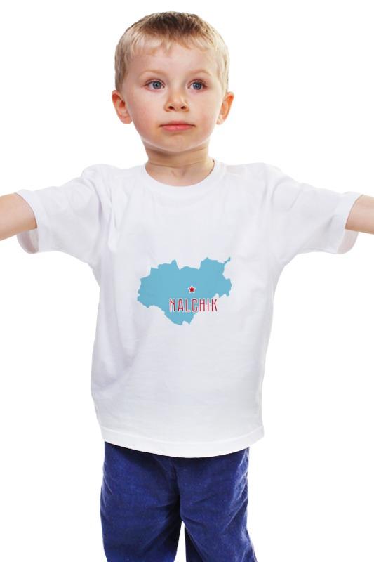 Детская футболка классическая унисекс Printio Республика кабардино-балкария. нальчик