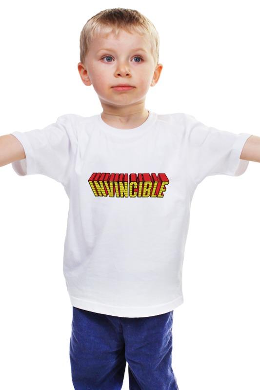 Детская футболка классическая унисекс Printio Невидимый сюрприз радиоуправляемый невидимый замок