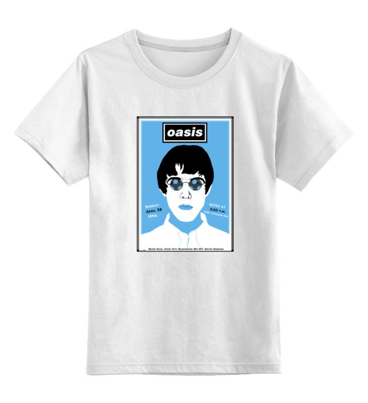 Детская футболка классическая унисекс Printio Oasis футболка классическая printio oasis