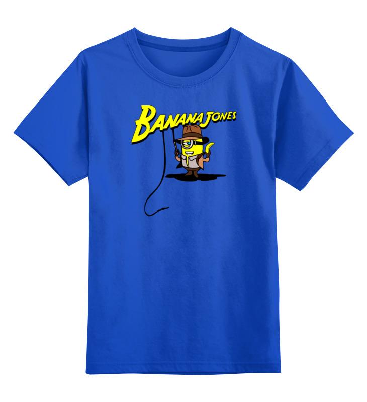 цена на Детская футболка классическая унисекс Printio Банана джонс