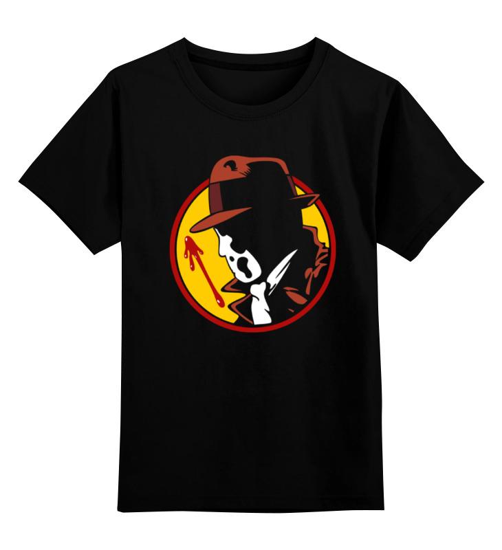 Детская футболка классическая унисекс Printio Хранители (watchmen) watchmen noir