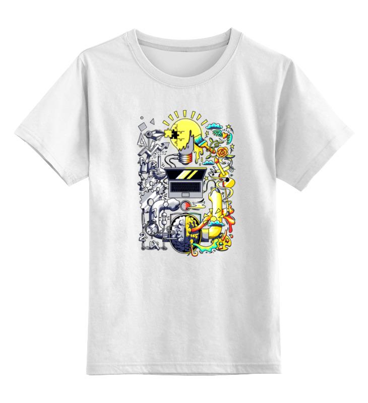 где купить Детская футболка классическая унисекс Printio Абракадабра по лучшей цене