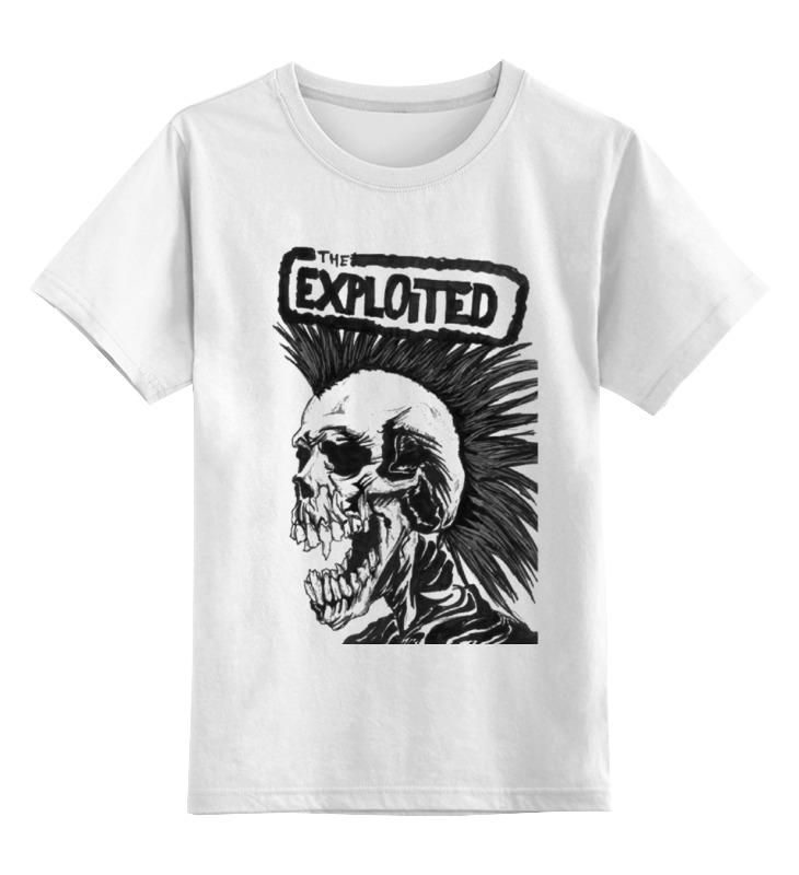 Детская футболка классическая унисекс Printio The exploited детская футболка классическая унисекс printio the cure wish