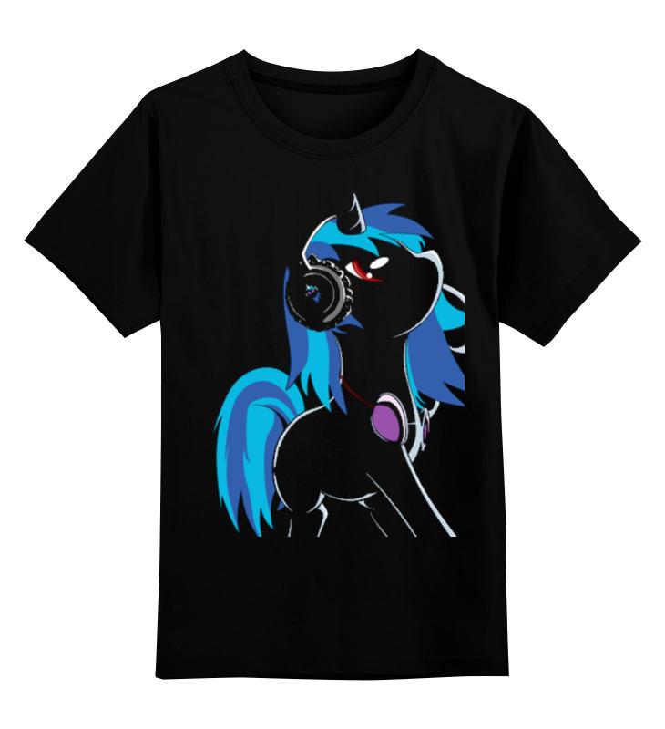 Детская футболка классическая унисекс Printio My little pony: dj pon-3 (vinyl scratch) my little pony фонарик проектор 3 в 1