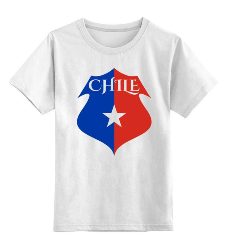 Детская футболка классическая унисекс Printio Сборная чили по футболу стоимость