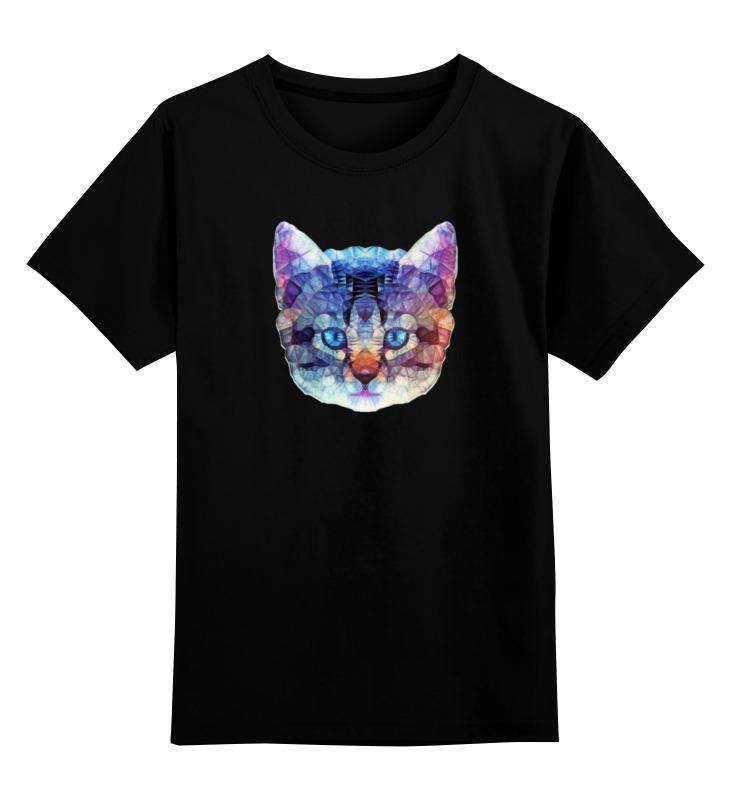 Детская футболка классическая унисекс Printio Абстрактный кот детская футболка классическая унисекс printio абстрактный кот