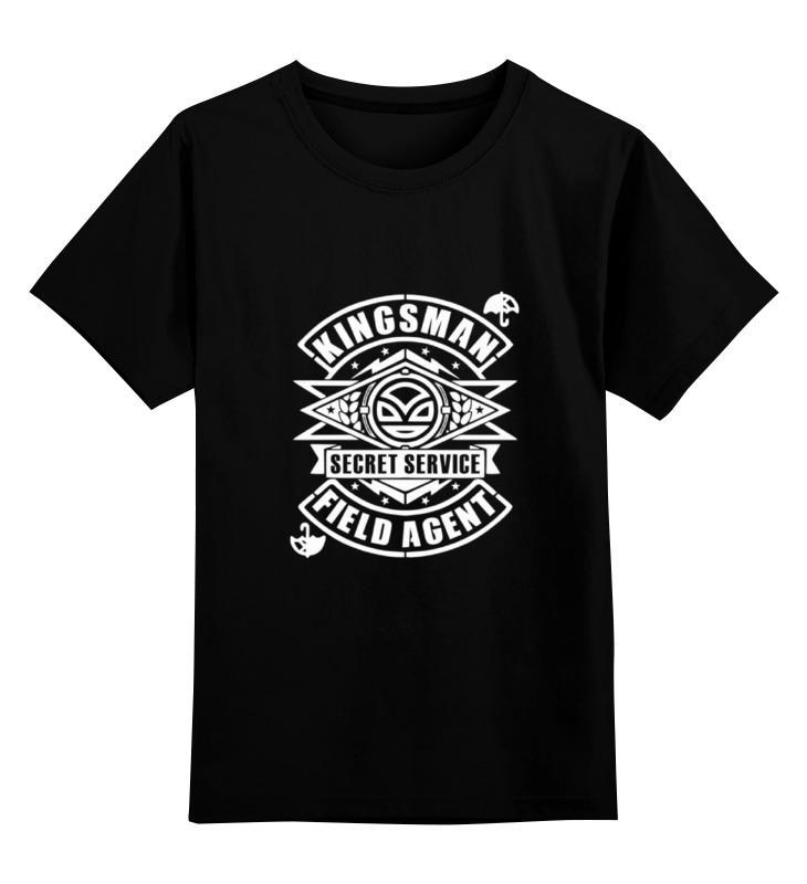 Детская футболка классическая унисекс Printio Тайная служба (kingsman) цена