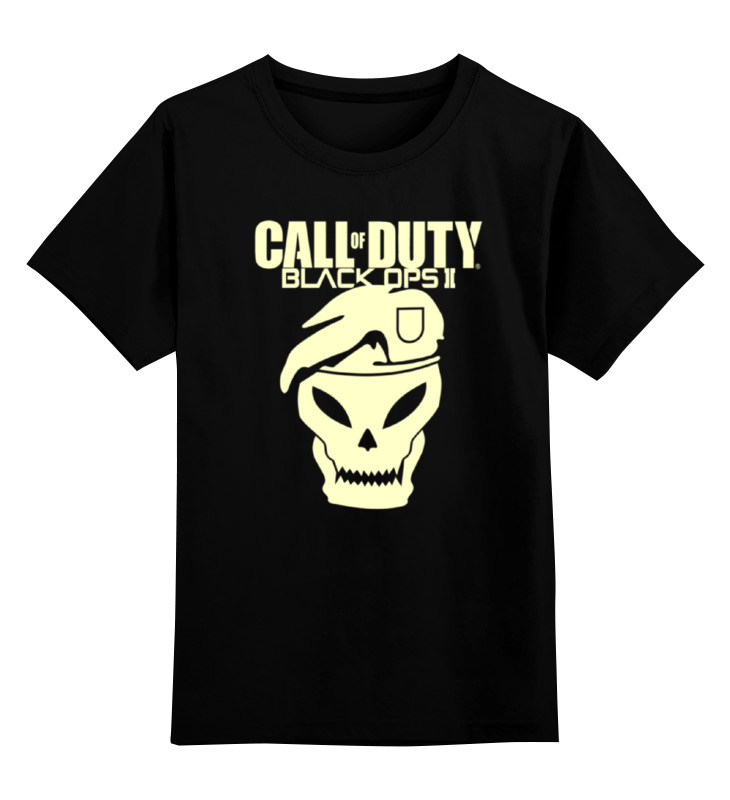 Printio Call of duty black ops футболка классическая printio call of duty black ops