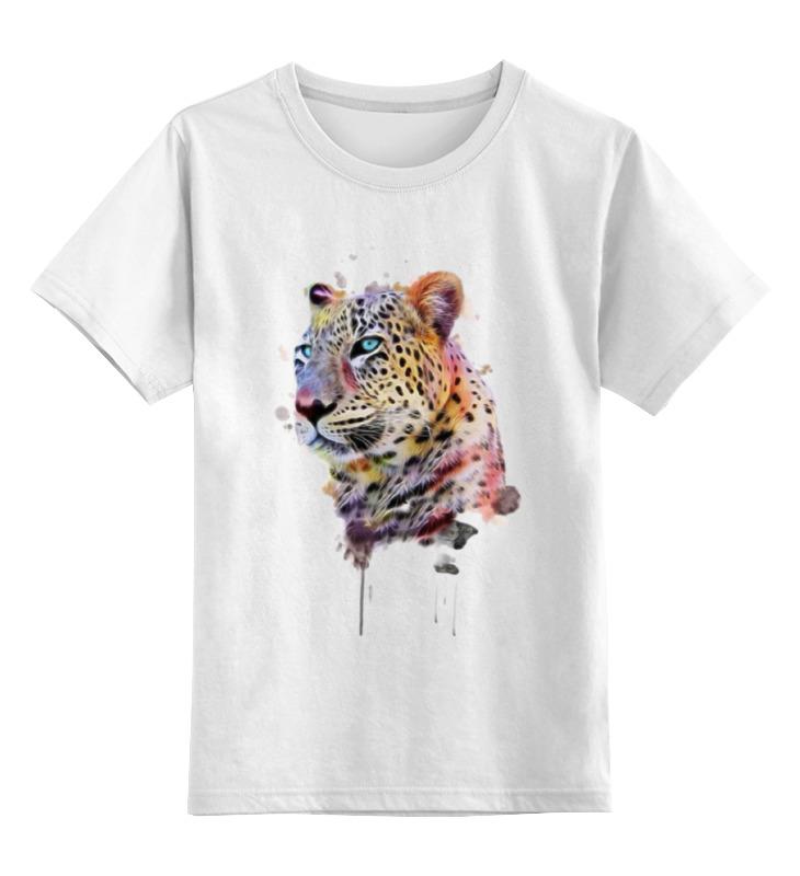 Детская футболка классическая унисекс Printio Тигр детская футболка классическая унисекс printio одноглазый тигр
