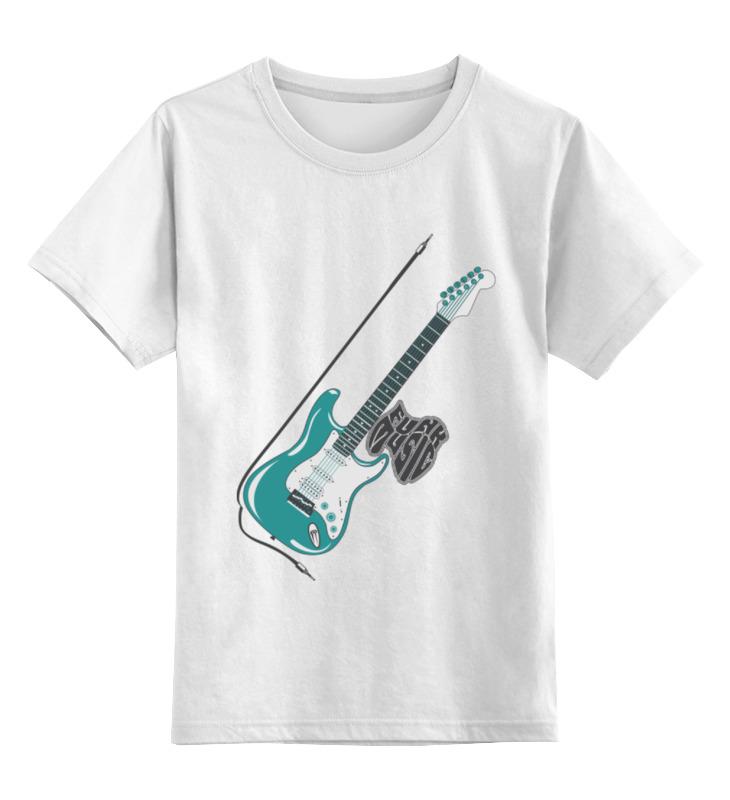 Детская футболка классическая унисекс Printio Funk music