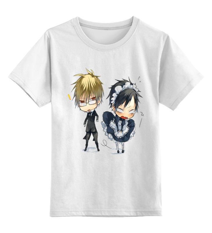 Детская футболка классическая унисекс Printio Аниме ii футболка детская bodo цвет белый 4 86u размер 86 92