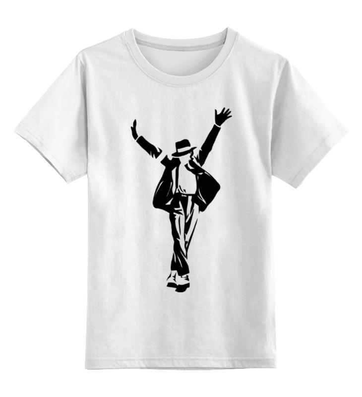 Детская футболка классическая унисекс Printio Майкл джексон (michael jackson) майкл джексон michael jackson off the wall lp