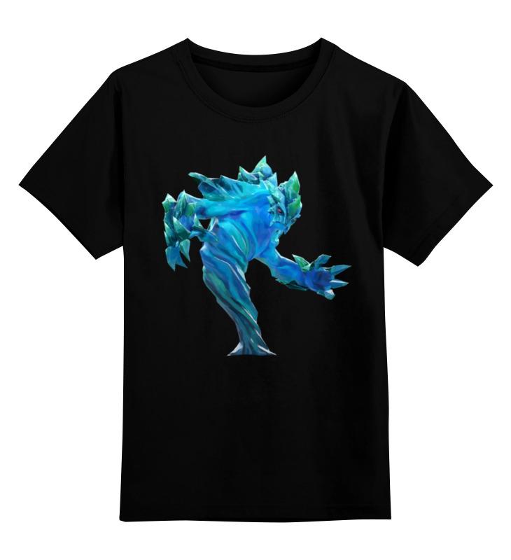 Детская футболка классическая унисекс Printio Фан арт морфинг из доты футболка классическая printio арк вардэн фан арт