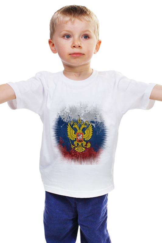 Детская футболка классическая унисекс Printio Патриотическая детская футболка классическая унисекс printio мачете