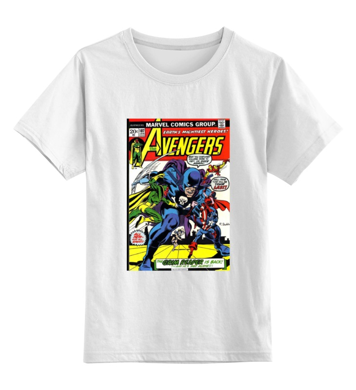 Детская футболка классическая унисекс Printio The avengers / мстители детская футболка классическая унисекс printio the undertaker